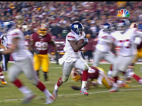 Video - New York Giants running back Andre Brown 23-yard touchdown