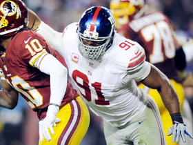 Video - Week 13: New York Giants defensive lineman Justin Tuck highlights