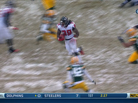 Video - Atlanta Falcons running back Steven Jackson 22-yard run