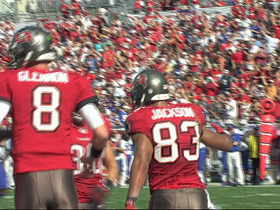 Video - Tampa Bay Buccaneers wide receiver Vincent Jackson 38-yard TD reception