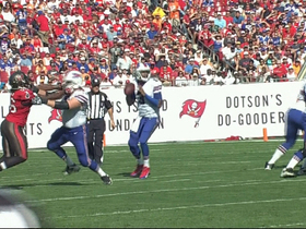Video - Buffalo Bills quarterback EJ Manuel throws 2nd interception
