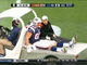 Watch: Rob Gronkowski carted off field