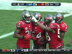 Video - Buffalo Bills wide receiver Robert Woods' fumble recovered by Tampa Bay Buccaneers linebacker Lavonte David