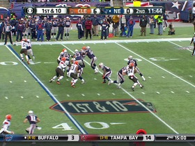QB Brady to RB Develin, 31-yd, pass