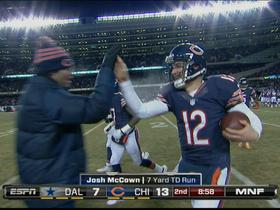 Video - Chicago Bears quarterback Josh McCown 7-yard touchdown