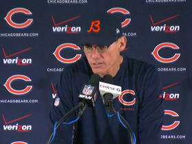 Video - Chicago Bears head coach Marc Trestman: 'When Jay Cutler is ready, he will be playing'