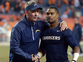 Video - San Diego Chargers head coach Mike McCoy applauds team's defensive effort