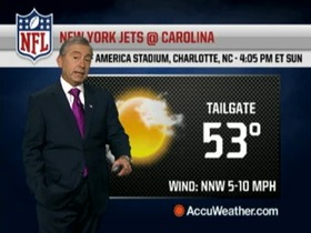 Video - Weather update: Jets @ Panthers.