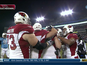 Video - Arizona Cardinals tight end Jake Ballard 6-yard touchdown