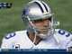 Watch: Romo's pass intercepted by Shields
