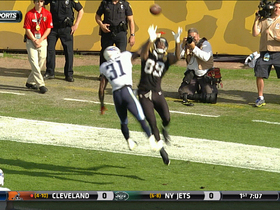 Video - Jacksonville Jaguars tight end Marcedes Lewis 4-yard touchdown grab