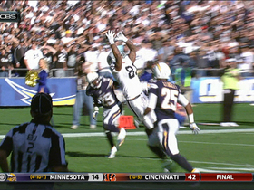 Video - Oakland Raiders tight end Mychal Rivera 37-yard leaping catch