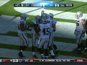 Video - Oakland Raiders running back Darren McFadden 5-yard TD run