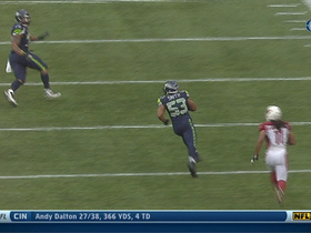 Video - Seattle Seahawks linebacker Malcolm Smith picks off Arizona Cardinals quarterback Carson Palmer