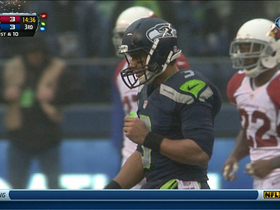 Video - Seattle Seahawks quarterback Russell Wilson 27-yard run