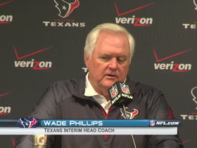 Video - Texans postgame press conference