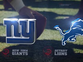 Video - Week 16: New York Giants vs. Detroit Lions highlights