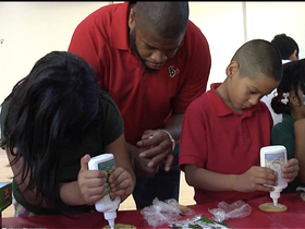 Video - 'In the Community': Houston Texans visit kids at YMCA