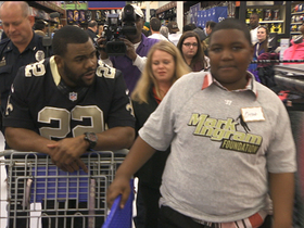Video - New Orleans Saints running back Mark Ingram gives back to the community