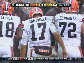 Video - Pittsburgh Steelers defensive end Brett Keisel strip sacks Cleveland Browns quarterback Jason Campbell