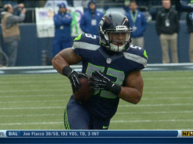 Video - Seattle Seahawks linebacker Malcolm Smith pick six