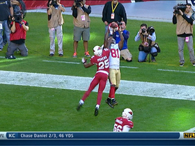 Video - San Francisco 49ers wide receiver Anquan Boldin catches a 4-yard touchdown pass