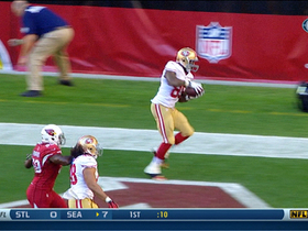 Video - San Francisco 49ers tight end Vernon Davis catches 3-yard touchdown pass
