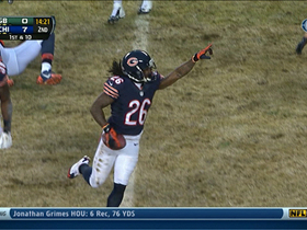 Video - Chicago Bears cornerback Tim Jennings picks off Green Bay Packers QB Aaron Rodgers