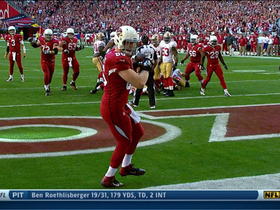Video - Arizona Cardinals tight end Jake Ballard catches touchdown on 4th and 1