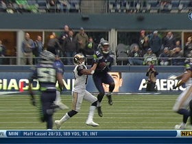 Video - Seattle Seahawks cornerback Byron Maxwell intercepts St. Louis Rams quarterback Kellen Clemens