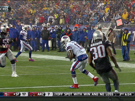 Video - Buffalo Bills wide receiver T.J. Graham 12-yard TD reception