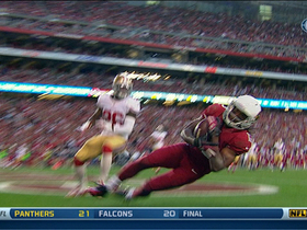 Video - Arizona Cardinals wide receiver Andre Roberts hauls in 34-yard touchdown pass