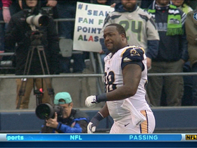 Video - St. Louis Rams defensive lineman Kendall Langford ejected in Seattle