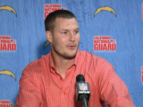 "Video - San Diego Chargers quarterback Philip Rivers: ""We almost let it get away from us"""