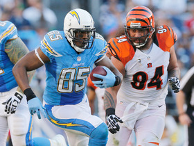 Video - 'Playbook': San Diego Chargers offense vs. Cincinnati Bengals defense