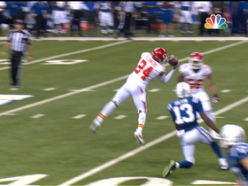 Video - Kansas City Chiefs Brandon Flowers intercepts Indianapolis Colts quarterback Andrew Luck
