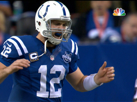 Video - Indianapolis Colts Andrew Luck throws interception on second-straight pass