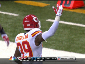 Video - Kansas City Chiefs defensive back Husain Abdullah intercepts Luck again