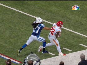 Video - Kansas City Chiefs wide receiver Dwayne Bowe can't toe the sideline