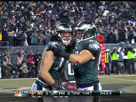 Video - Philadelphia Eagles wide receiver Riley Cooper 10-yard touchdown catch