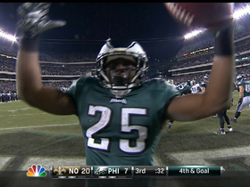 Video - Philadelphia Eagles running back LeSean McCoy 1-yard TD run