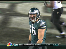 Video - Philadelphia Eagles Zach Ertz 3-yard TD reception