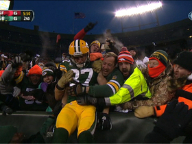 Video - Green Bay Packers wide receiver Jordy Nelson 5-yard touchdown catch