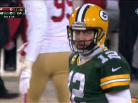 Video - Green Bay Packers quarterback Aaron Rodgers finally completes pass
