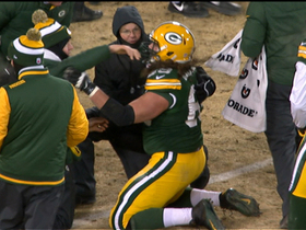 Video - Andrea Kremer: Green Bay Packers tackle David Bakhtiari re-entered game without clearance
