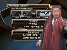 Video - Divisional Round Weekend weather report