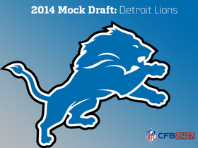 Video - No. 10 pick: Lions on the clock