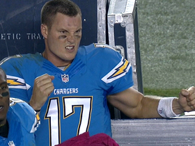 Video - San Diego Chargers quarterback Philip Rivers tends to Phreakout