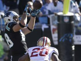 Video - Carolina Panthers tight end Greg Olsen 35-yard reception