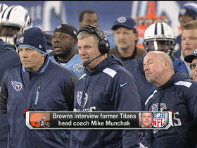 Video - Mike Munchak to interview with Cleveland Browns